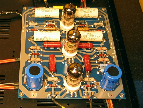 Finished Tube Pre  Pcb Design Upgraded To Marantz M7 also All p1 also Viewtopic in addition Universal Tube Pre lifier moreover Pre  cookbook e. on 12ax7 amplifier circuit